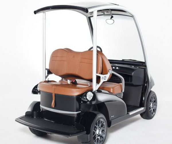 garia 22 Garia 2+2 Is A Multi Functional Luxury Golf Cart