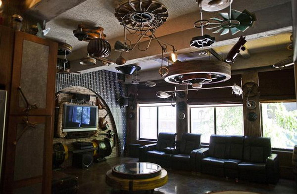 Steampunk Style Apartment In Manhattan Up For Sale At 1