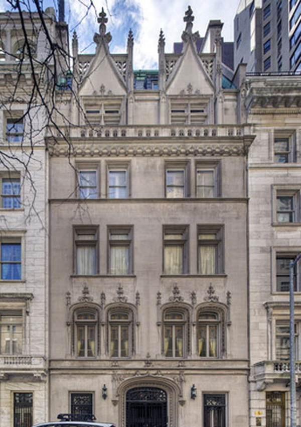 Woolworth luxury mansion on the market for 90 million for Townhouses for sale in manhattan ny