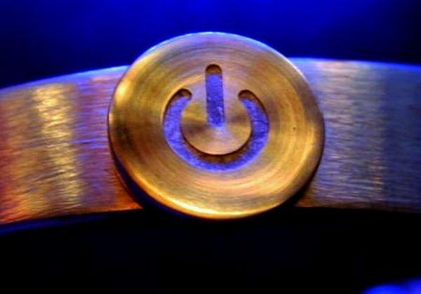 .925 Silver Power Bracelet