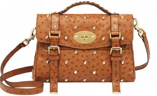 Alexa Ostrich bag from Mulberry