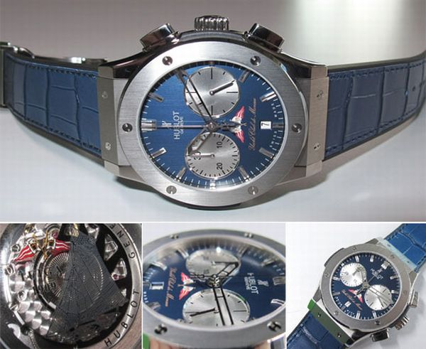 Classic Fusion Hublot and YCM watch