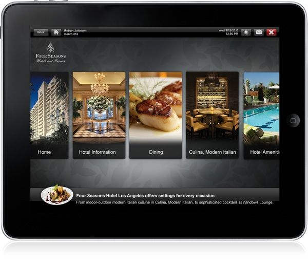 Four Seasons LA ipad2