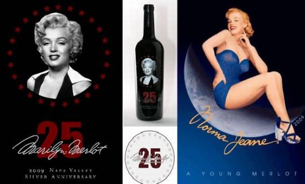 Marilyn Merlot limited edition wine