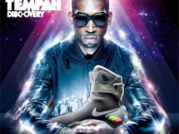 Tempah with sneakers