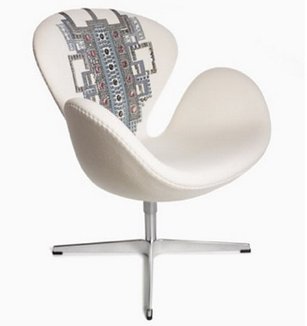 Margherita Missoni Anywhere Chair: Top Designers Design Swan Chairs To Raise Breast Cancer