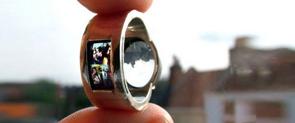 projector ring Raise Your Fun Quotient With Cool Geeky Jewelry