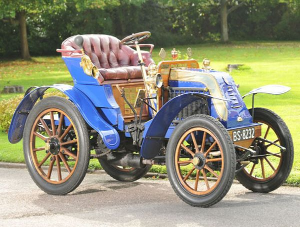 1902 Deckert 8HP car