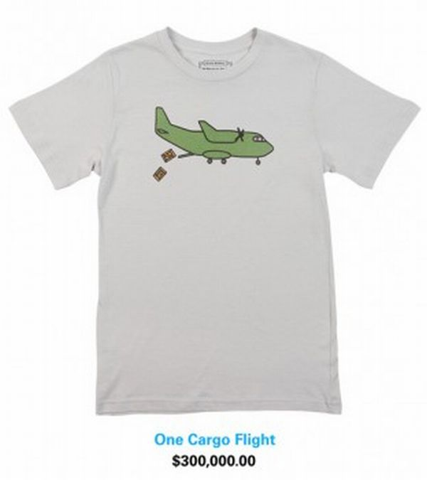 Cargo Flight $300,000 T Shirt