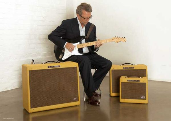 Eric Clapton and the EC Amp Series