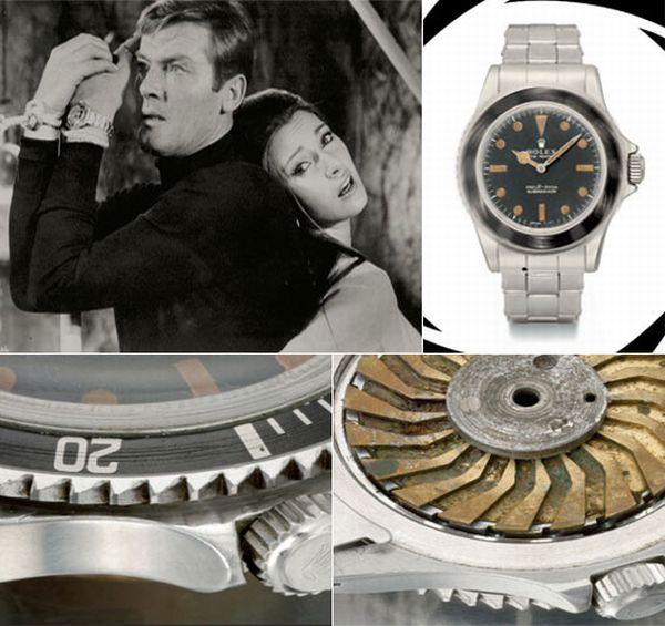 James Bond Rolex 5513 watch
