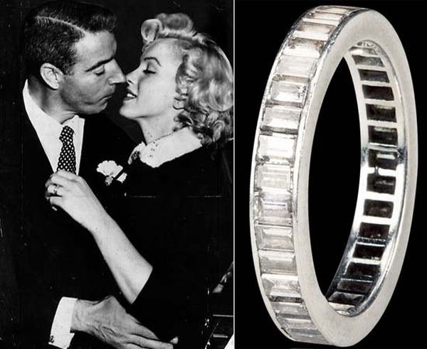 Marilyn Monroe's wedding ring