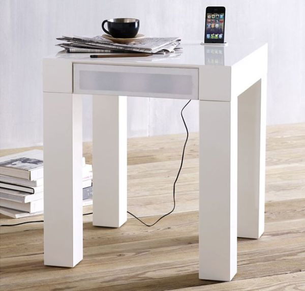 Parsons-Audio-End-Table