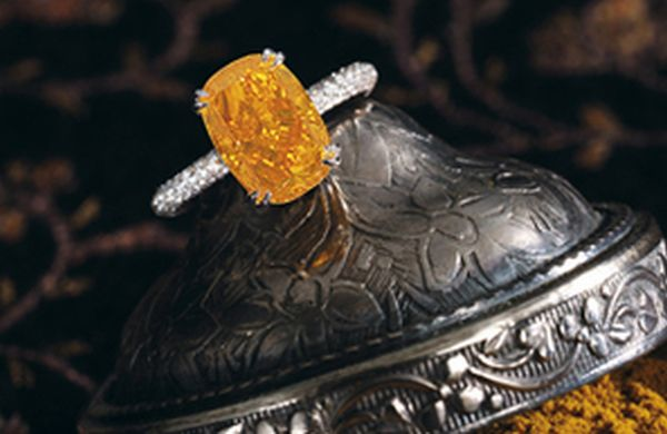 Ring at Sotheby's auction