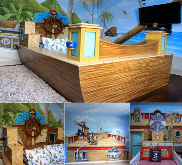 Treasure Cove Private bed