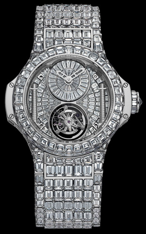 hublot woos the ladies with million dollar watches elite. Black Bedroom Furniture Sets. Home Design Ideas