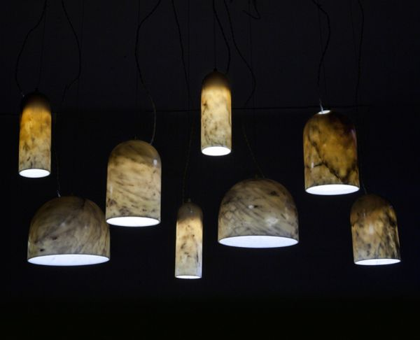 marble lamps
