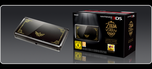 Limited edition legend of zelda nintendo 3ds console set to a make luxurious debut elite choice - Ocarina of time 3ds console ...