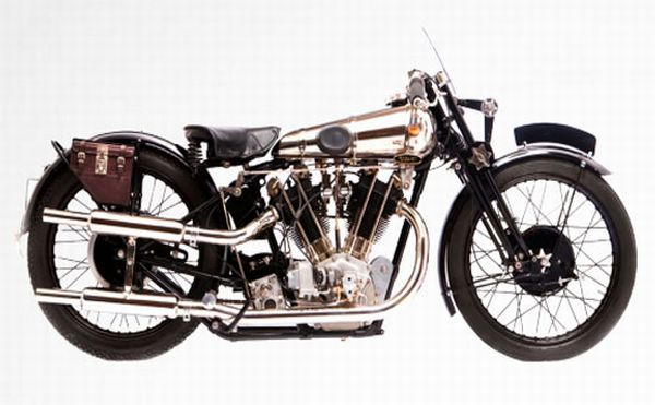 Brough Superior SS100 Retro bike