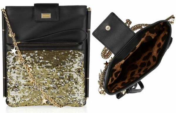 Dolce & Gabbana's sequined leather iPad case