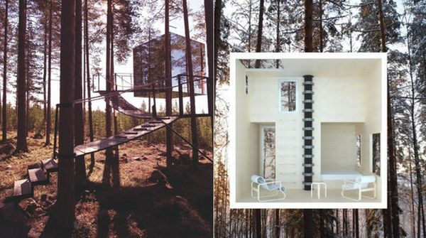 Mirrorcube Tree House