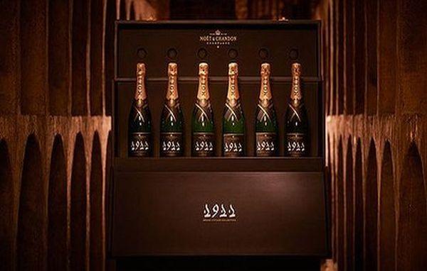 Moet et Chandon vintage champagne