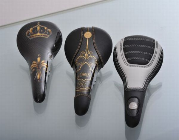 Worlds most expensive bicycle saddles