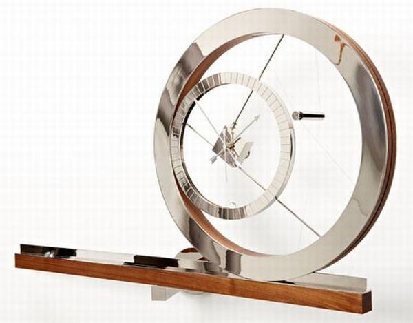 clock for an acrobat watch by Daniel Weil