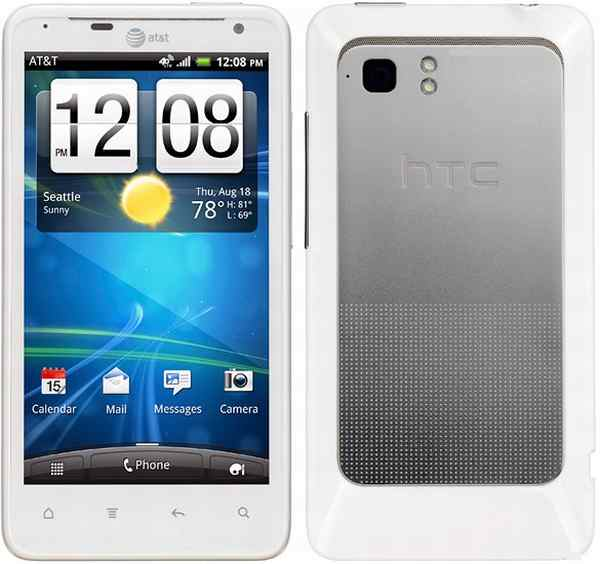 Excellent at T HTC Vivid White 4G LTE Android Smartphone