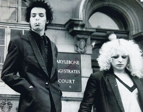 sid of Sex Pistols