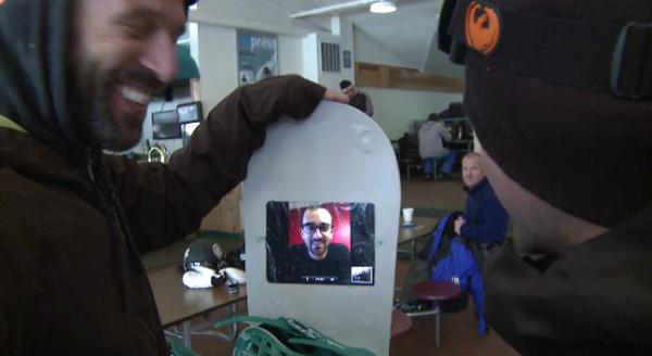 snowboard-iPad