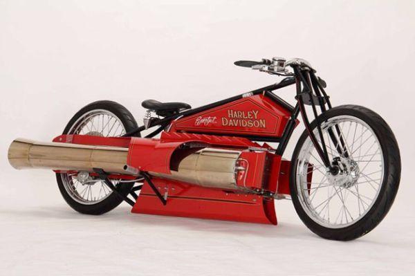 world's only twin jet engine bike