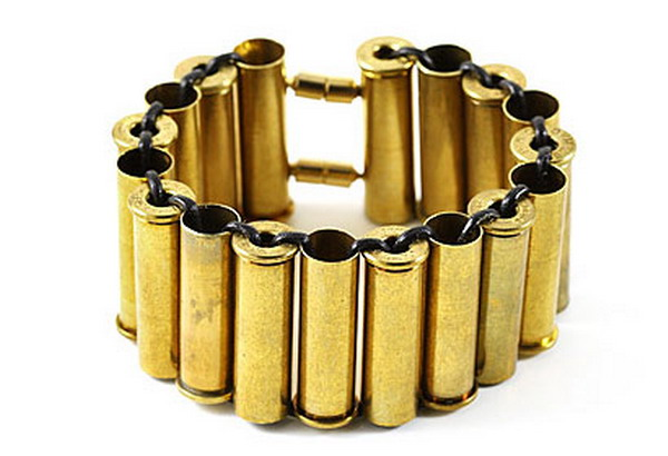 bullet casing bracelet Gift Guide: Green Gifts For Her