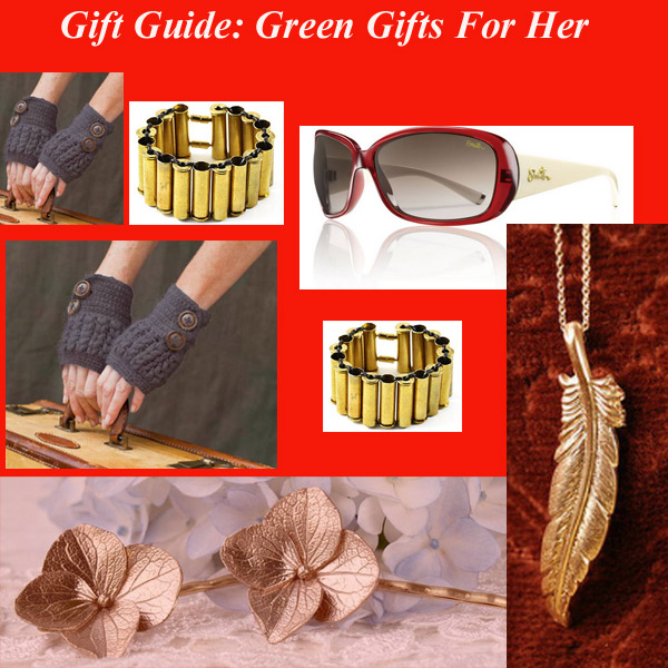green gifts for her Gift Guide: Green Gifts For Her