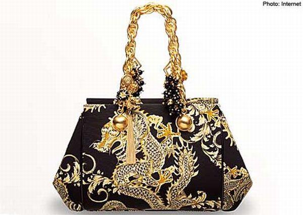 VersaceDragon handbag
