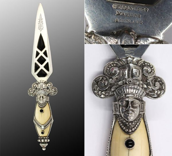 antique_aztec_dagger_tiffany