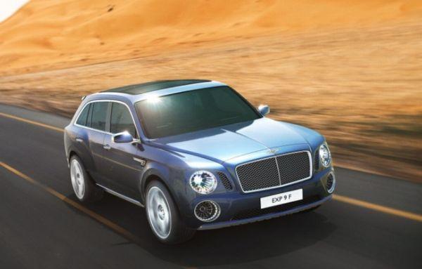Bentley EXP 9F 5