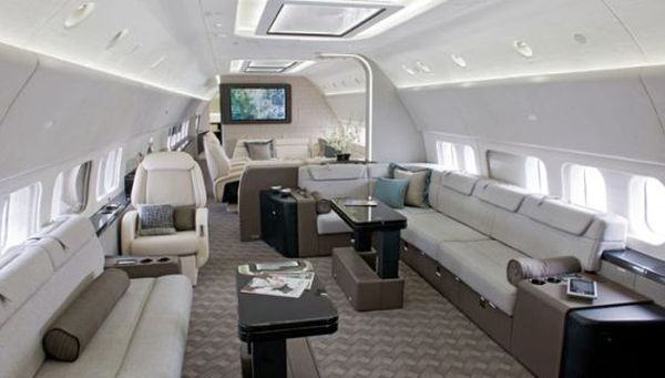 Boeing BBJ Jet