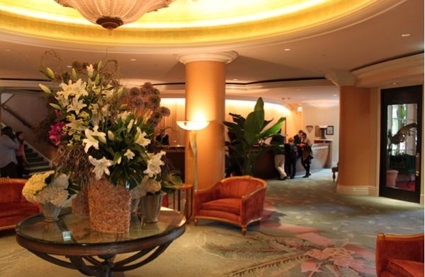 beverly hills hotel lobby