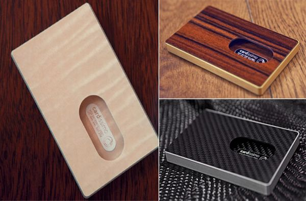 Carbon Fiber Business Cards Woo the Affluent