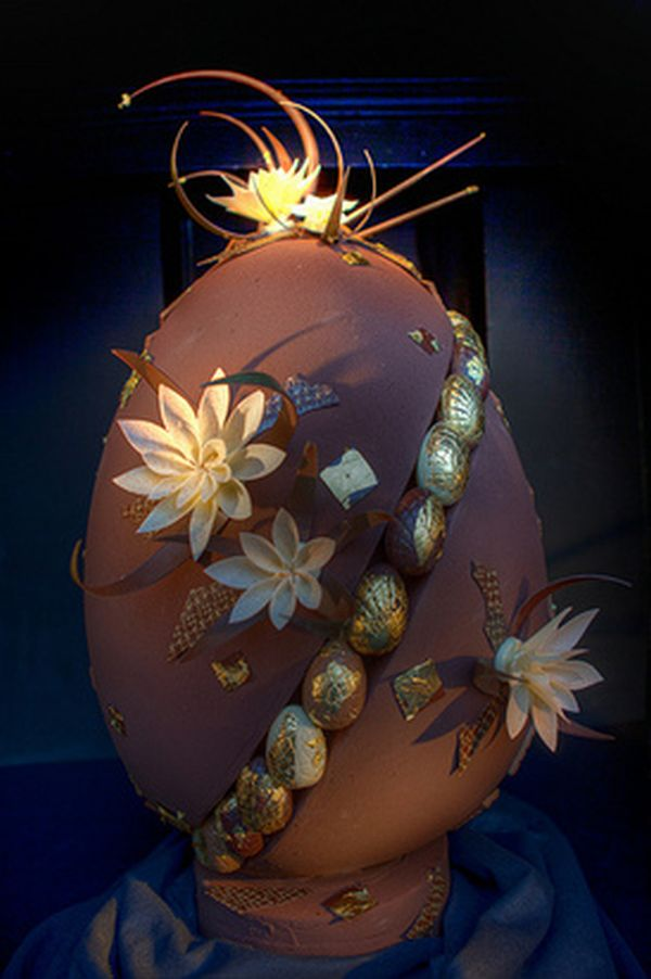 chocoegg Chocolate Easter Egg Created by William Curley Auctioned for $10,000