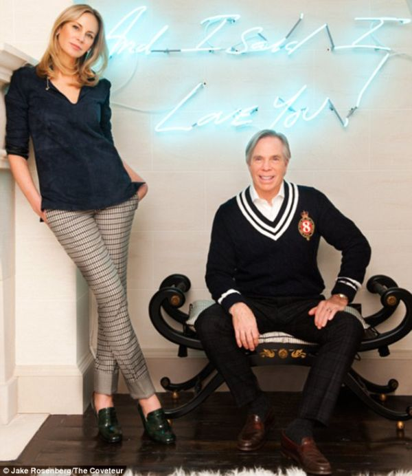 neon sign A Sneak Preview of Tommy Hilfiger and Dee Hilfigers $50 Million Home