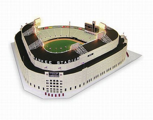 1961 Yankee Stadium Scale Model