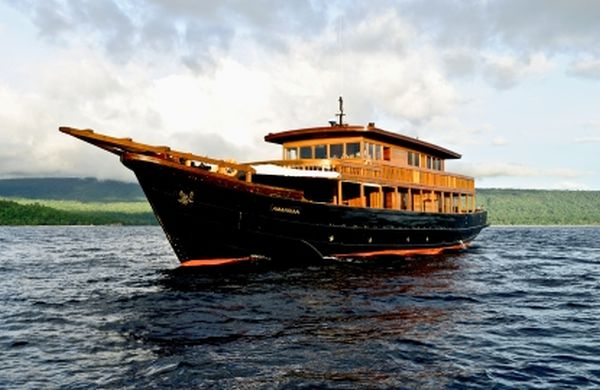 Amanikan cruiser Aman Resorts Launches Luxury Cruise this Fall