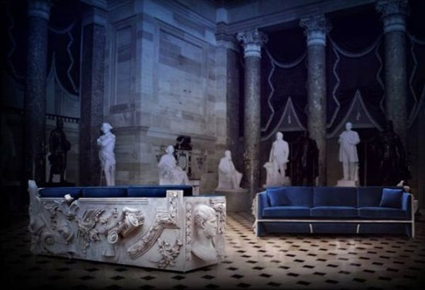 Boca do Lobo limited edition Versailles sofa