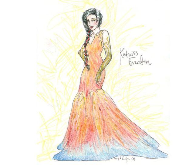 Katniss Everdeen Dress