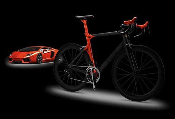 Lamborghini BMC limited edition road bicycle