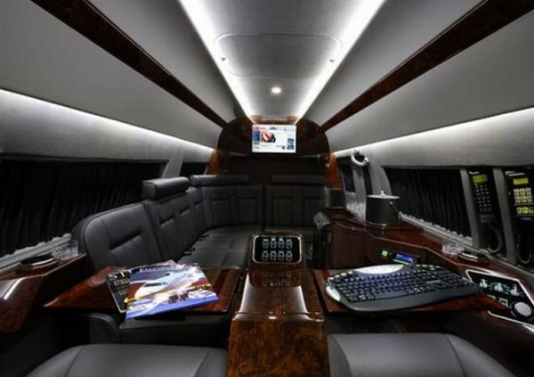 Mercedes Benz Sprinter Van Interiors Private Jet Interiors Replicated in Mercedes Benz Sprinter Van