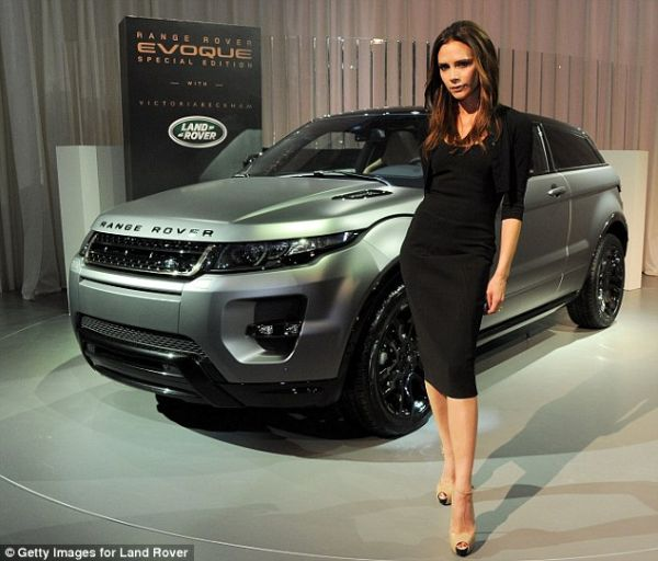 Range Rover 'baby limited edition Victoria beckham