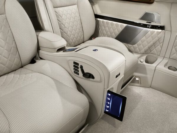 The Mercedes Benz Viano Vision Diamond Interior 3